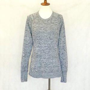 90 Degree by Reflex Marled Gray Sweatshirt